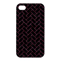BRK2 BK-PK MARBLE Apple iPhone 4/4S Premium Hardshell Case