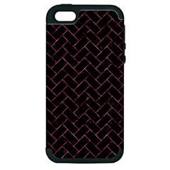 BRK2 BK-PK MARBLE Apple iPhone 5 Hardshell Case (PC+Silicone)