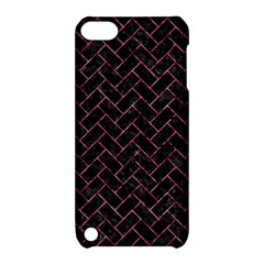 BRK2 BK-PK MARBLE Apple iPod Touch 5 Hardshell Case with Stand