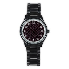 BRK2 BK-PK MARBLE Stainless Steel Round Watch