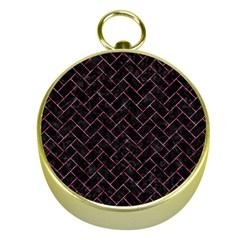 BRK2 BK-PK MARBLE Gold Compasses