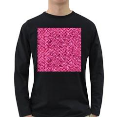 BRK2 BK-PK MARBLE (R) Long Sleeve Dark T-Shirts