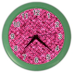 BRK2 BK-PK MARBLE (R) Color Wall Clocks