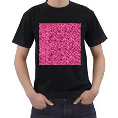 BRK2 BK-PK MARBLE (R) Men s T-Shirt (Black)