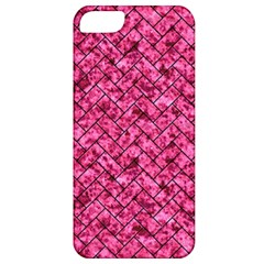 BRK2 BK-PK MARBLE (R) Apple iPhone 5 Classic Hardshell Case
