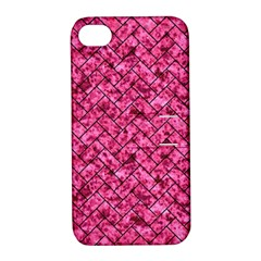 BRK2 BK-PK MARBLE (R) Apple iPhone 4/4S Hardshell Case with Stand