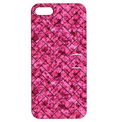 BRK2 BK-PK MARBLE (R) Apple iPhone 5 Hardshell Case with Stand