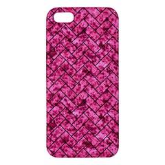 BRK2 BK-PK MARBLE (R) Apple iPhone 5 Premium Hardshell Case