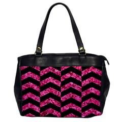 CHV2 BK-PK MARBLE Office Handbags