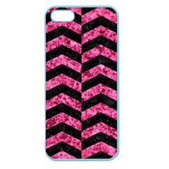 CHV2 BK-PK MARBLE Apple Seamless iPhone 5 Case (Color)