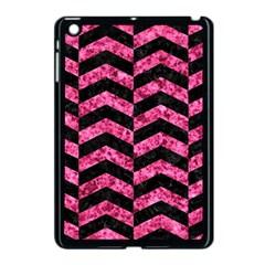 CHV2 BK-PK MARBLE Apple iPad Mini Case (Black)