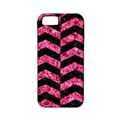 CHV2 BK-PK MARBLE Apple iPhone 5 Classic Hardshell Case (PC+Silicone)