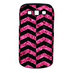 CHV2 BK-PK MARBLE Samsung Galaxy S III Classic Hardshell Case (PC+Silicone)