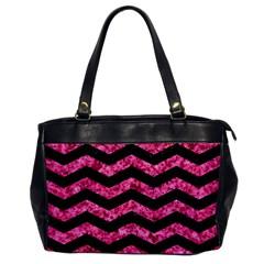 CHV3 BK-PK MARBLE Office Handbags