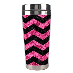 CHV3 BK-PK MARBLE Stainless Steel Travel Tumblers