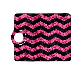 CHV3 BK-PK MARBLE Kindle Fire HDX 8.9  Flip 360 Case