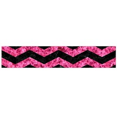 CHV3 BK-PK MARBLE Flano Scarf (Large)