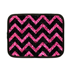 CHV9 BK-PK MARBLE Netbook Case (Small)