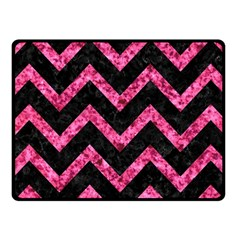 CHV9 BK-PK MARBLE Fleece Blanket (Small)