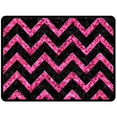 CHV9 BK-PK MARBLE Double Sided Fleece Blanket (Large)