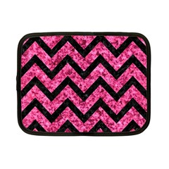 CHV9 BK-PK MARBLE (R) Netbook Case (Small)