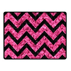 CHV9 BK-PK MARBLE (R) Fleece Blanket (Small)