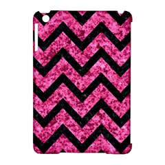 CHV9 BK-PK MARBLE (R) Apple iPad Mini Hardshell Case (Compatible with Smart Cover)