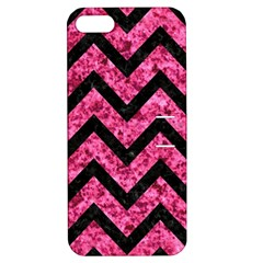 CHV9 BK-PK MARBLE (R) Apple iPhone 5 Hardshell Case with Stand
