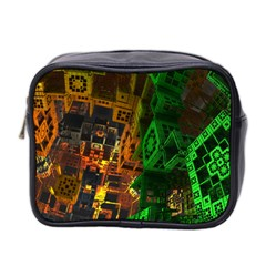 Minecraft Fractal Mini Toiletries Bag 2-Side