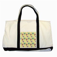 Animals Pastel Children Colorful Two Tone Tote Bag