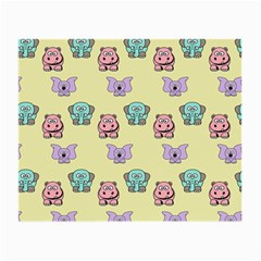 Animals Pastel Children Colorful Small Glasses Cloth (2-Side)