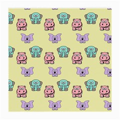 Animals Pastel Children Colorful Medium Glasses Cloth