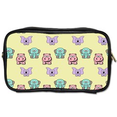 Animals Pastel Children Colorful Toiletries Bags 2-Side