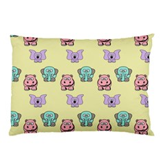 Animals Pastel Children Colorful Pillow Case (Two Sides)