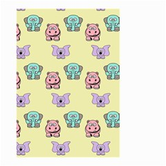 Animals Pastel Children Colorful Small Garden Flag (Two Sides)