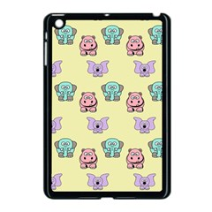 Animals Pastel Children Colorful Apple iPad Mini Case (Black)