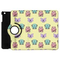 Animals Pastel Children Colorful Apple iPad Mini Flip 360 Case