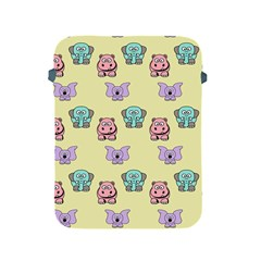 Animals Pastel Children Colorful Apple iPad 2/3/4 Protective Soft Cases