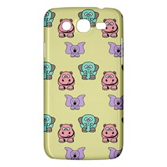 Animals Pastel Children Colorful Samsung Galaxy Mega 5.8 I9152 Hardshell Case