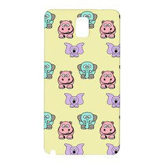 Animals Pastel Children Colorful Samsung Galaxy Note 3 N9005 Hardshell Back Case