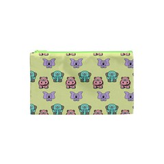 Animals Pastel Children Colorful Cosmetic Bag (XS)