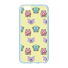 Animals Pastel Children Colorful Apple Seamless iPhone 6/6S Case (Color)