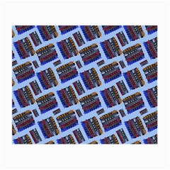 Abstract Pattern Seamless Artwork Small Glasses Cloth