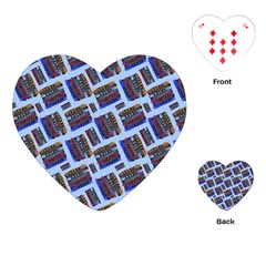 Abstract Pattern Seamless Artwork Playing Cards (Heart)