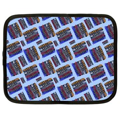 Abstract Pattern Seamless Artwork Netbook Case (Large)