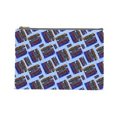 Abstract Pattern Seamless Artwork Cosmetic Bag (Large)