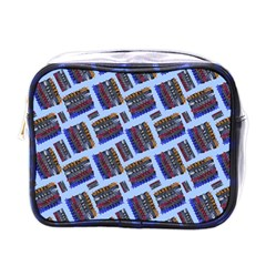 Abstract Pattern Seamless Artwork Mini Toiletries Bags