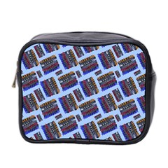 Abstract Pattern Seamless Artwork Mini Toiletries Bag 2-Side