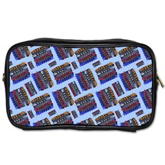 Abstract Pattern Seamless Artwork Toiletries Bags 2-Side
