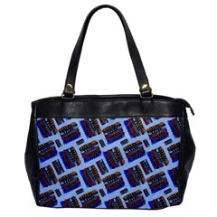 Abstract Pattern Seamless Artwork Office Handbags